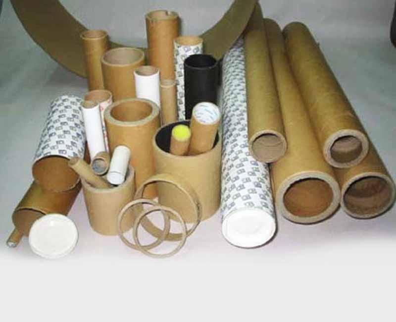 Manufacturer of corrugated paper carton box, paper tubes